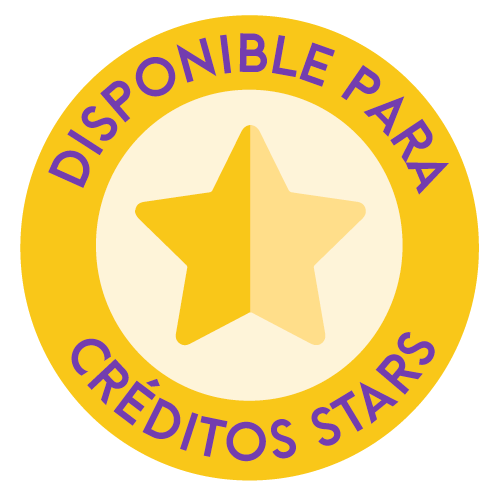 Disponible para creditos stars
