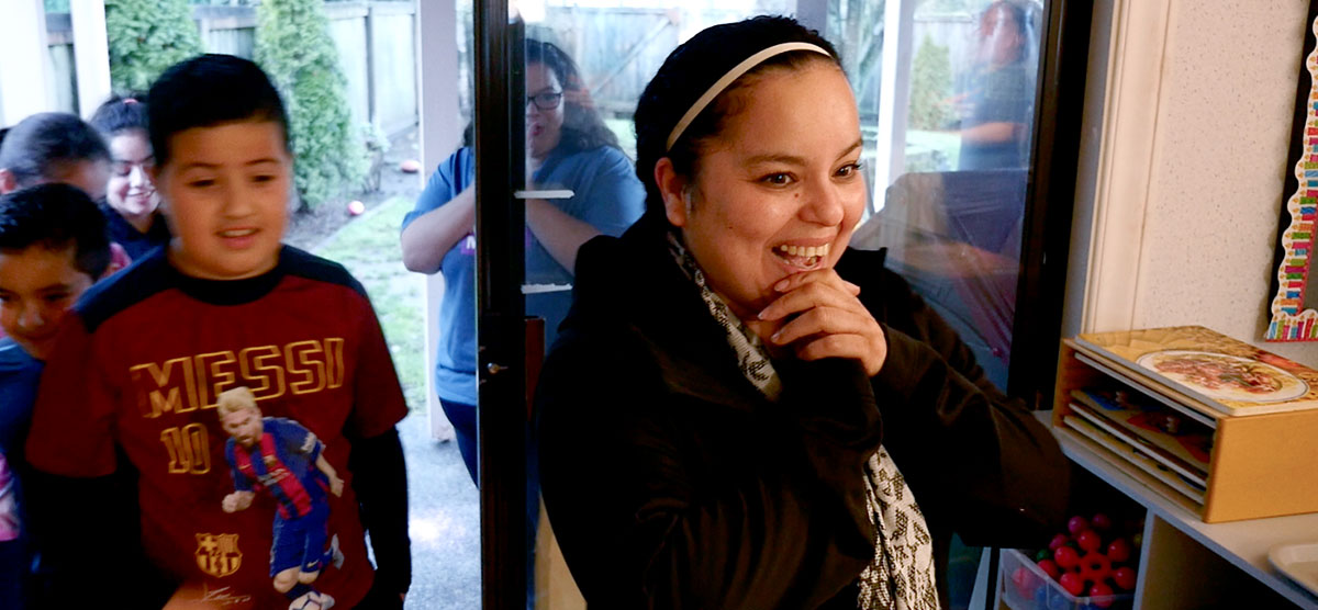 Meaningful Makeover recipient is shocked and excited about her makeover!