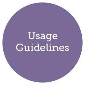 Usage Guidelines header