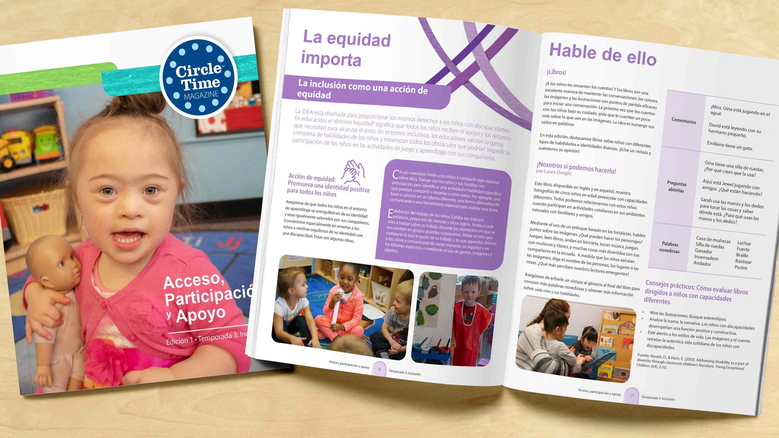 Circle Time Magazine Season 3 Episode 1 Spanish Magazine Cover