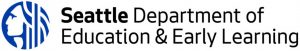 Seattle Department of Education and Early Education logo